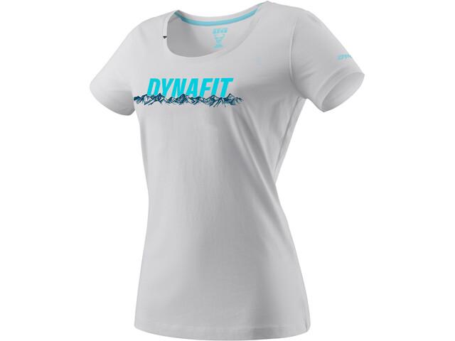 Dynafit Graphic Katoenen T-shirt Dames, nimbus/skyline